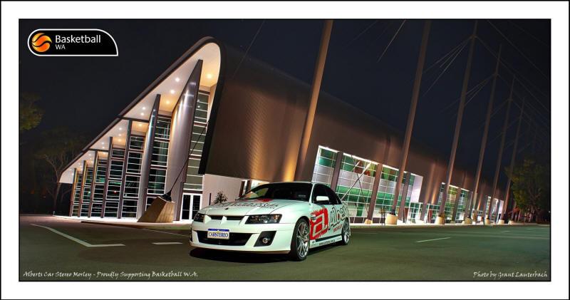Alberts Car Stereo Morley - Proudly supporting Basketball WA